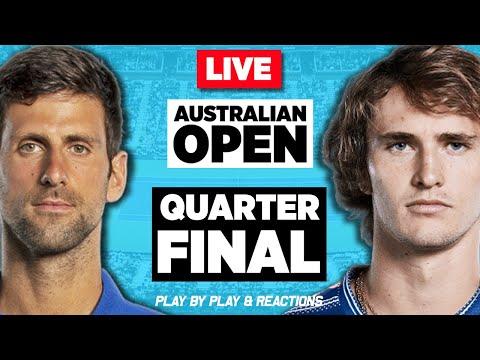 🔴 DJOKOVIC vs ZVEREV | Australian Open 2021 | LIVE Tennis Play-by-Play