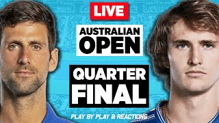 🔴 DJOKOVIC vs ZVEREV | Australian Open 2021 | LIVE Tennis Play-by-Play