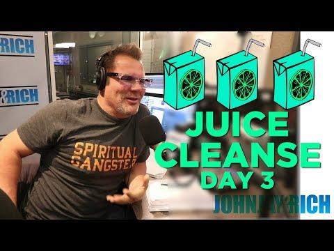 In-Studio Videos - Day Three of The JUICE CLEANSE!!