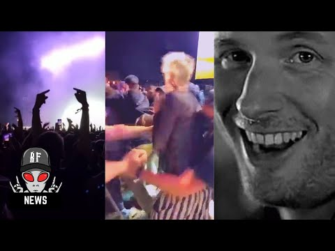 MGK Booed By Thousands Of Slipknot Fans, Brawls In The Crowd At Festival Appearance