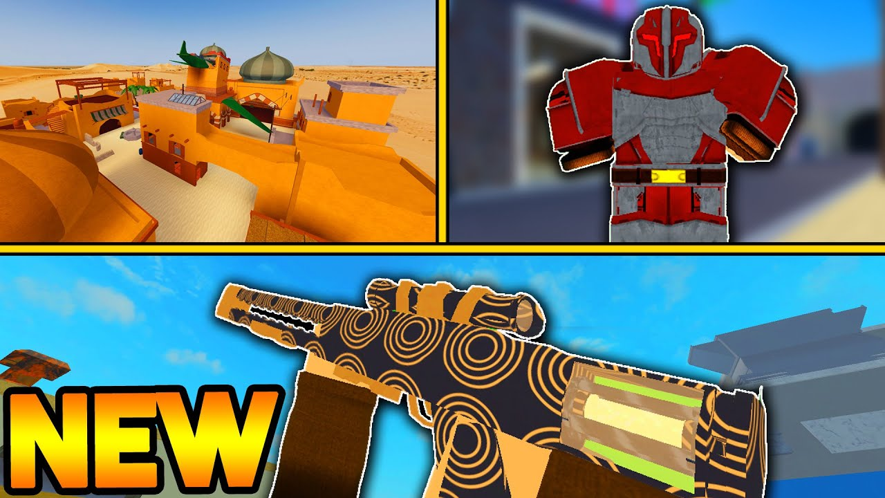 The Largest Arsenal Update Yet New Weapon Skins Map Revamps