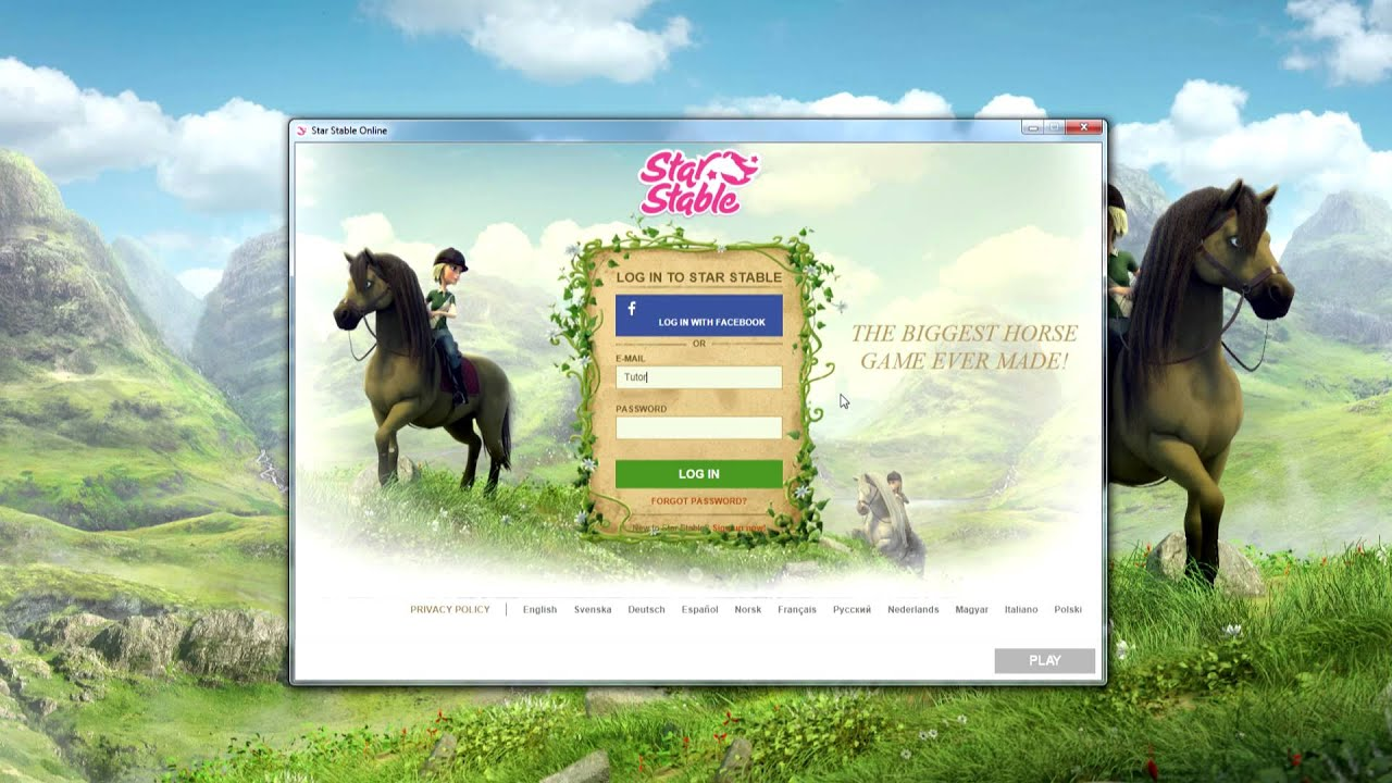 star stable launcher