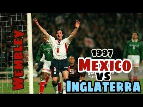 Mexico vs Inglaterra  1997 (Amistoso completo)