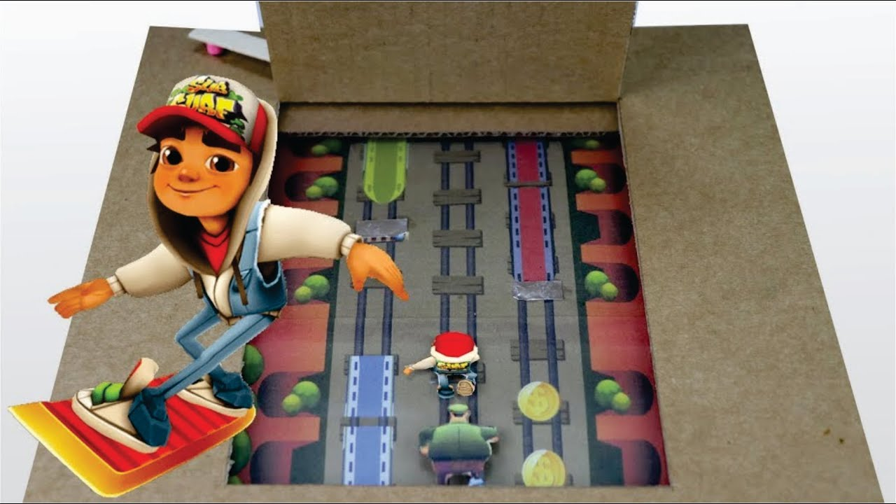 How to make subway surfer game from cardboard with touch screen how to make subway surfer game from cardboard with touch screen solutioingenieria Gallery