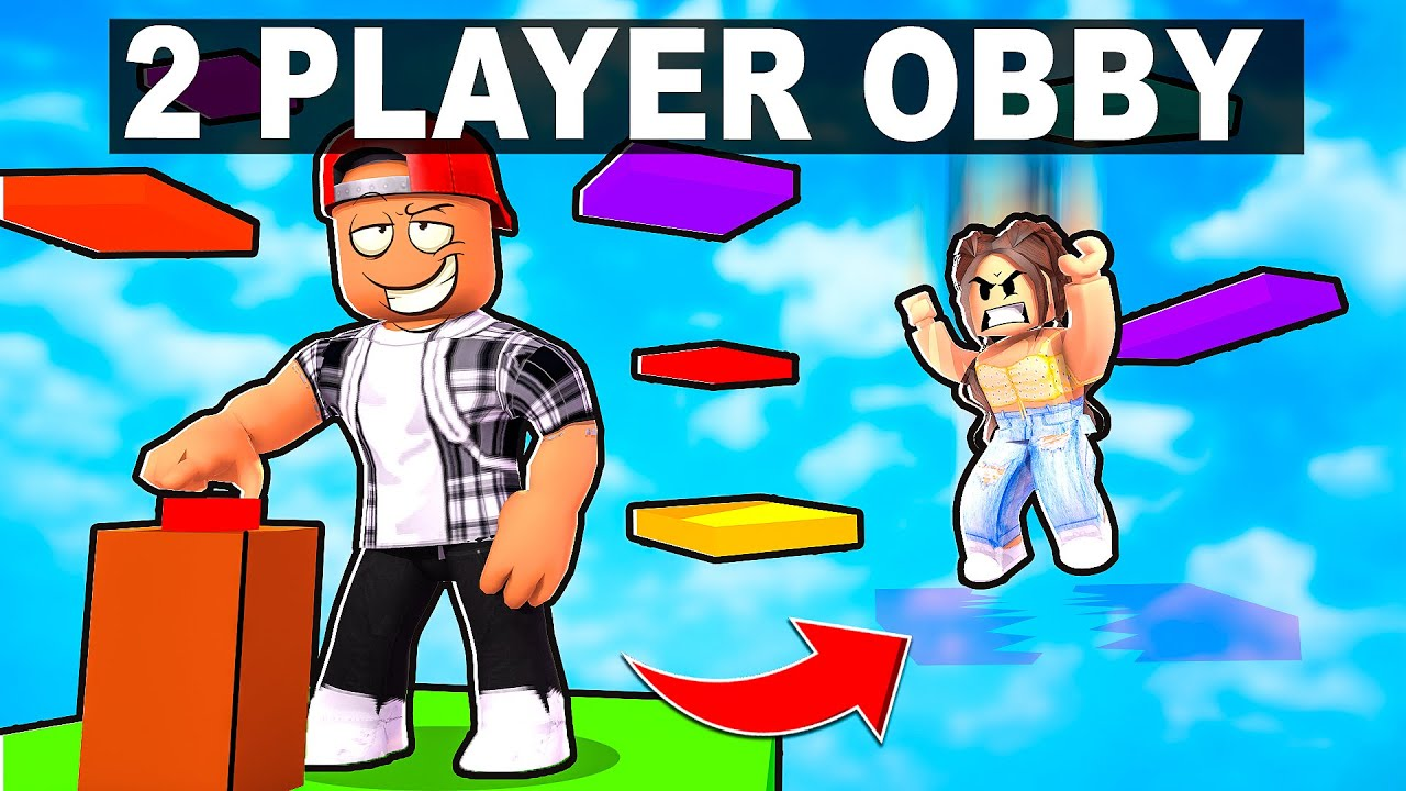 MY GIRLFRIEND NEARLY BROKE UP WITH ME BECAUSE OF THIS.... (ROBLOX 2 PLAYER OBBY)