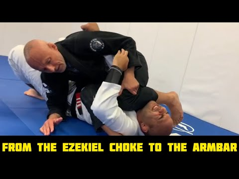 "From The Ezekiel Choke To The Armbar On The Mount by Karel ""Silver Fox"" Pravec"