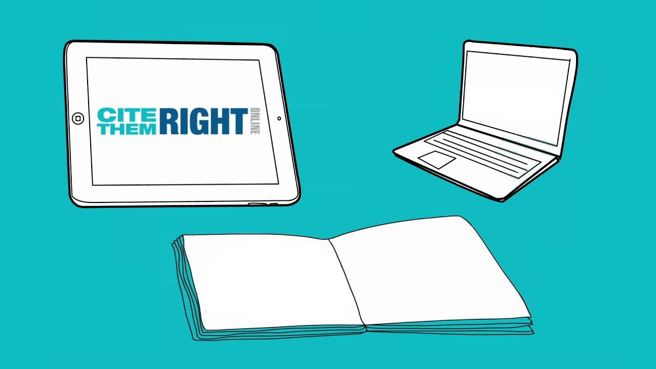 Cite Them Right Online Home