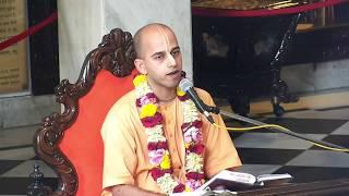 Gurukul, Grihsthas and Good Projeny in ISKCON by Chaitanya avatar das   22nd Oct 2018 ISKCON Juhu
