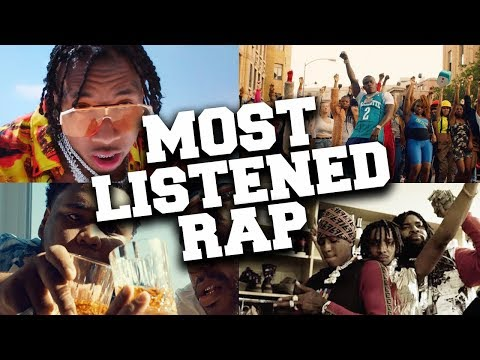 Top 100 Most Listened Rap Songs in December 2019