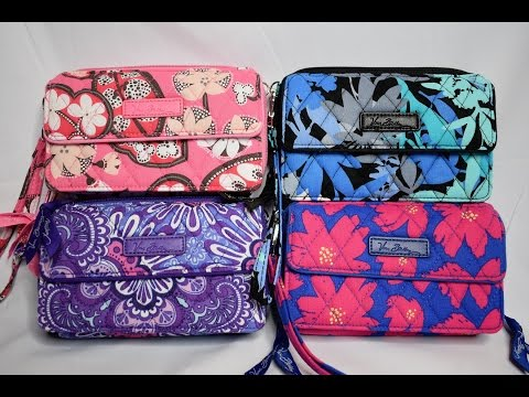 Vera Bradley All in One Crossbody & Wristlet for iPhone 6+ Collection and Review