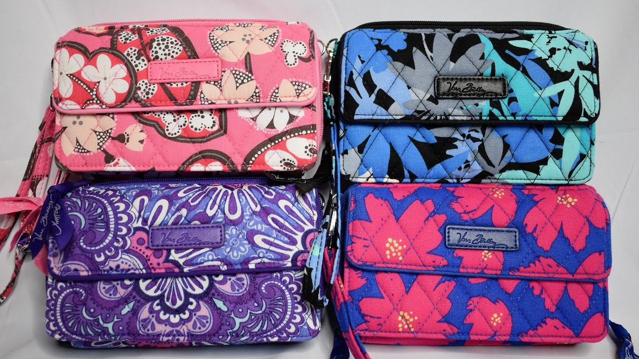new product 376d8 cdef7 Vera Bradley All in One Crossbody & Wristlet for iPhone 6+ Collection and  Review
