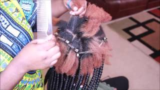 how to box braids tutorial beginner friendly
