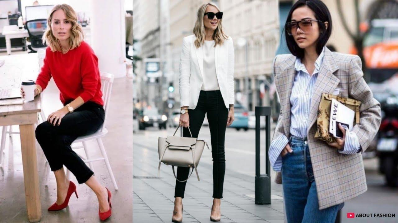 Outfits Para Ir A La Oficina Tendencias De Moda 2019
