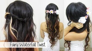 Elegant Waterfall Twist