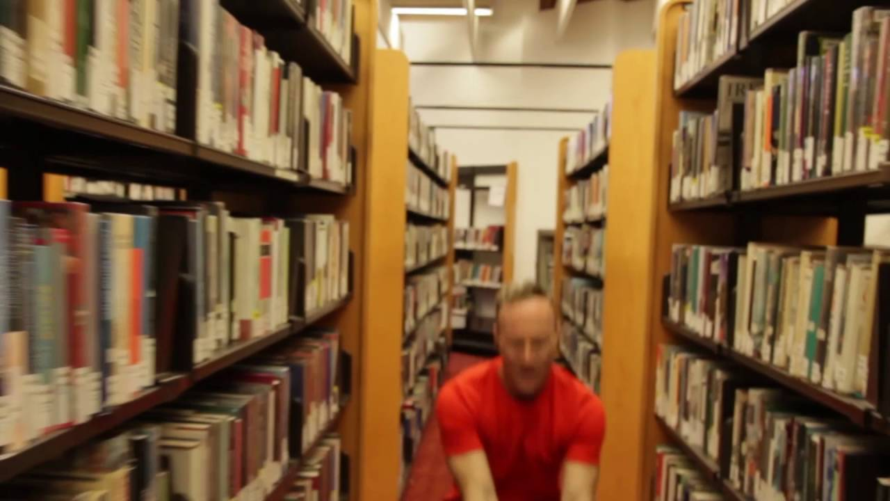 e92b4da65edb Phil dancing in the Reference Library! - YouTube