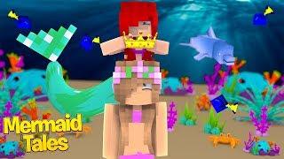 MERMAID PRINCESS LITTLE KELLYS CORONATION! | Minecraft Mermaid Tales