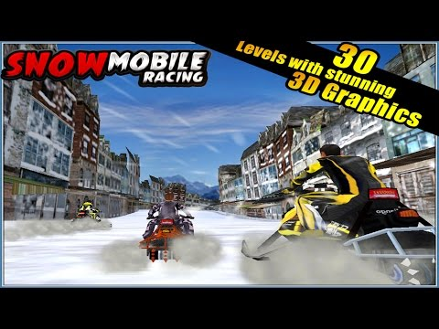 SnowMobile Racing 3D (  Crazy Addictive Action Race Games ) Walkthrough