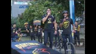 Indonesian Young Heroes Perform at Dahsyat Musik (BMX)