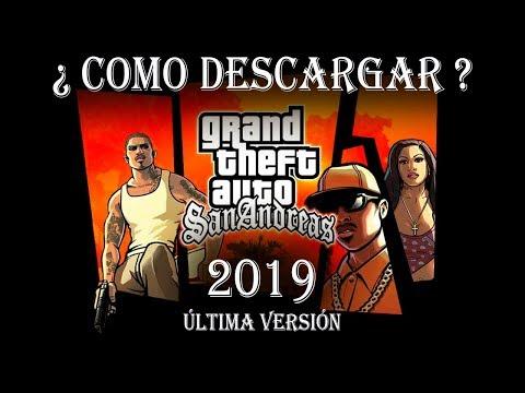 COMO DESCARGAR GTA SAN ANDREAS PARA PC | 2019 |