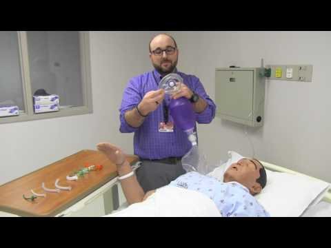 RT Clinic : Manual ventilation with a bag valve mask