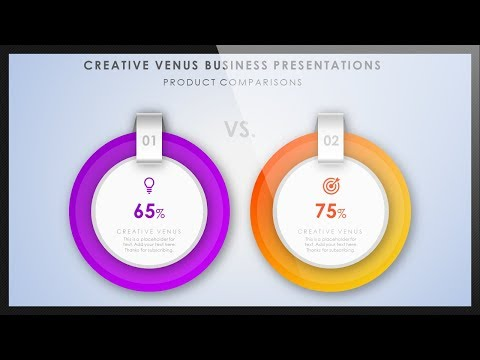 How To Create a Perfect Presentation Slide for Data Comparison in Microsoft Office PowerPoint PPT