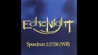 Echo Night PS1 Speedrun (WR) 1:17:58