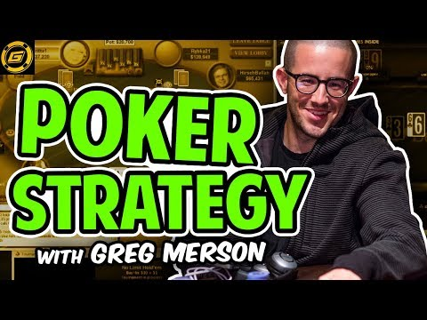 Poker Tournament Strategy Session ft. Greg Merson - WSOP 2012 Main Event Champion!!!