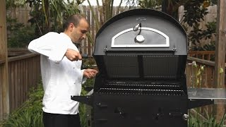 Alsace Wood Burning Outdoor Pizza Oven And Grill Combo Overview - Bbqguys.com