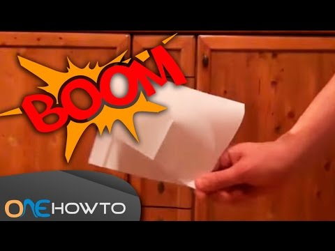PAPER POPPER - How To Make a LOUD Paper Snap Easy! - 동영상