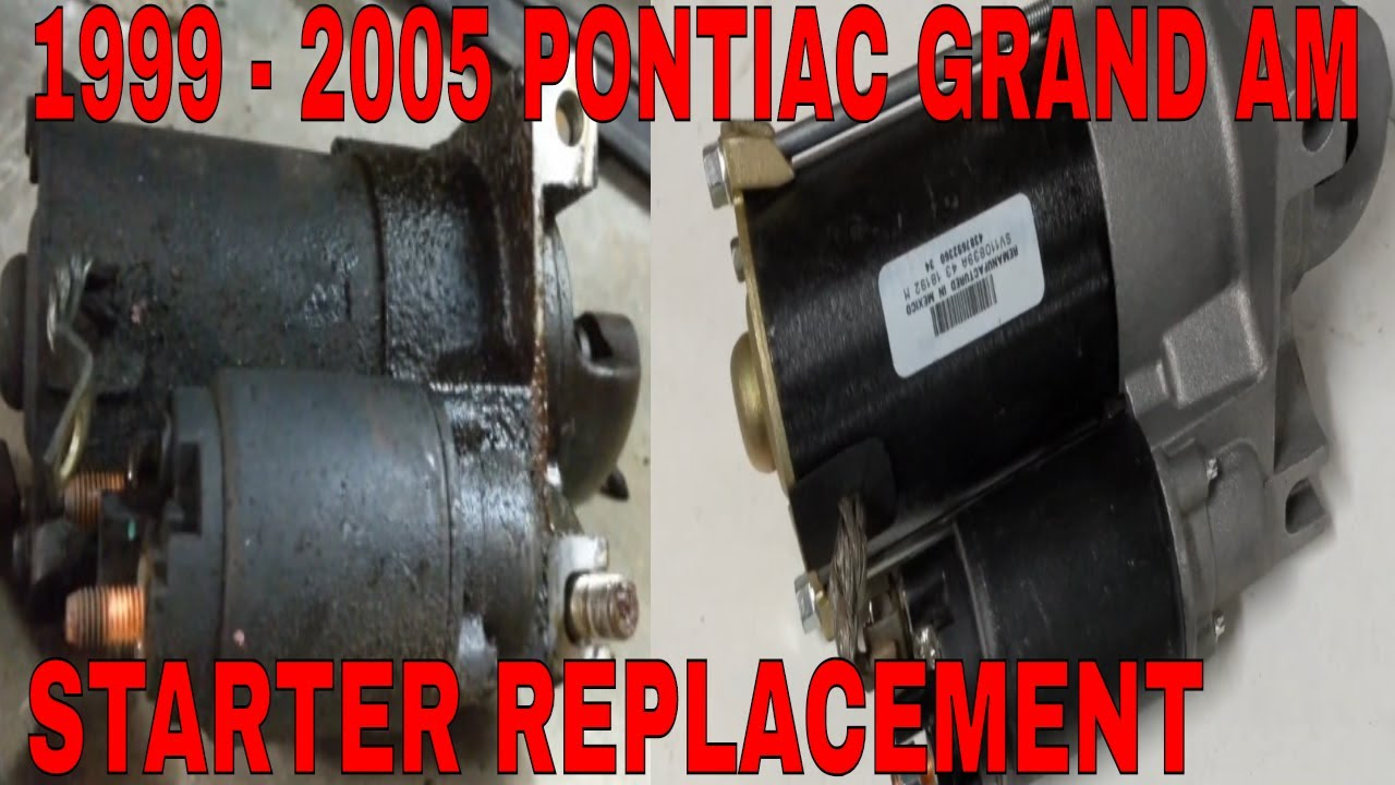 2004 grand am engine wiring diagram starting how to remove and install a starter on a pontiac grand am 1999  install a starter on a pontiac grand am
