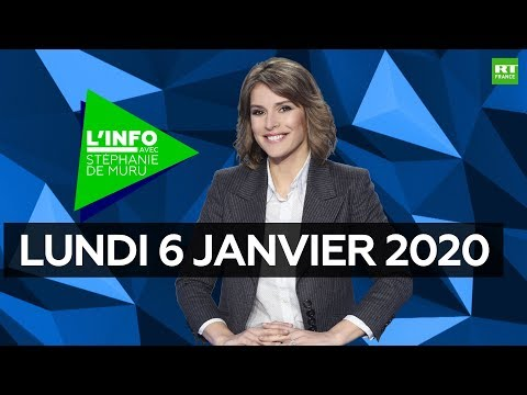 Download L'Info avec Stéphanie De Muru - Lundi 6 janvier 2020