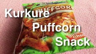 Kurkure Puffcorn snack