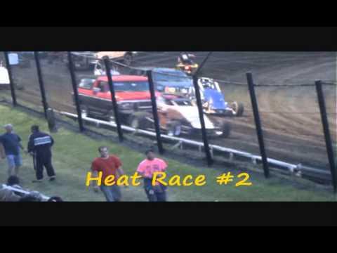 OCRS Sprints  Caney Valley Speedway 7 6 13 Video
