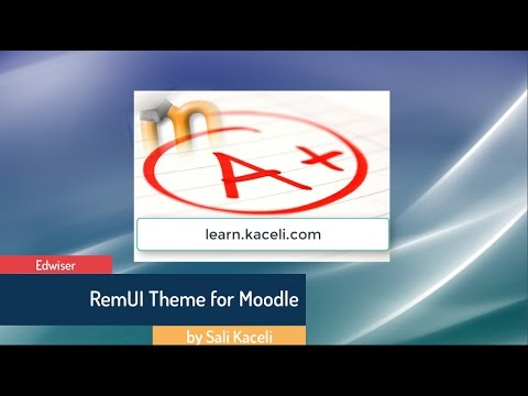 Edwiser RemUI Theme for Moodle - Make your Moodle Site Look Modern Again