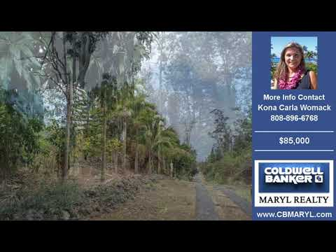 Land For Sale Captain Cook HAWAII Real Estate $85000 on 1.01901 Acre by Kona Carla Womack