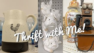 Thrift with Me-Goodwill & Carolina Thrift Store Hunting-What Would You Buy?