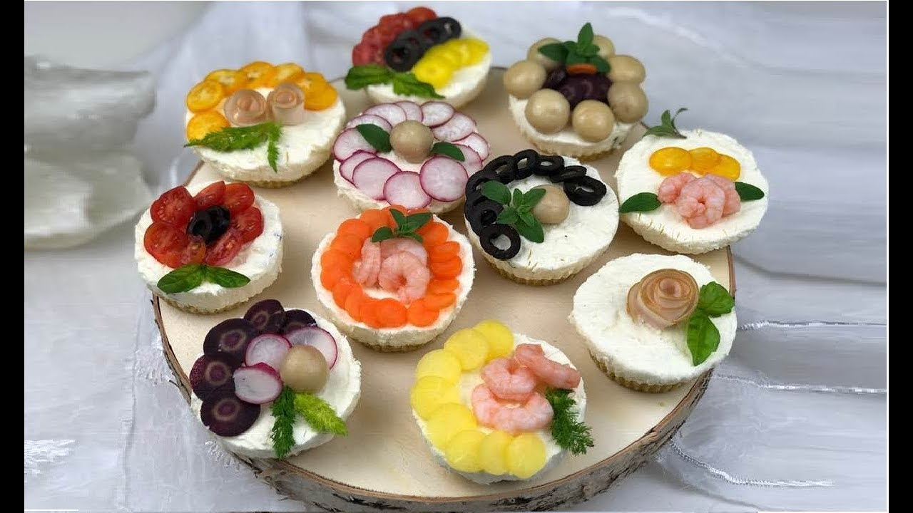 Antipasti Di Natale Monoporzione.Mini Cheesecake Salate Perfette Per Antipasti Youtube