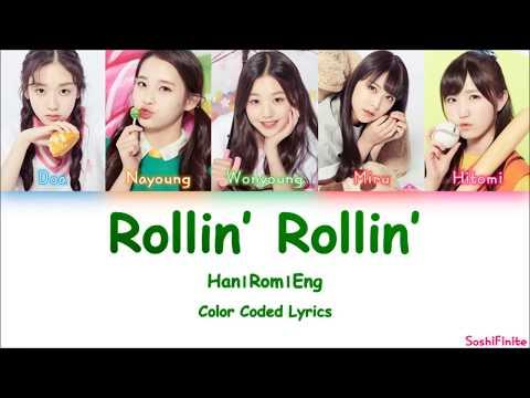 PRODUCE 48– Rollin' Rollin' [Love Potion] Color Coded Lyrics Han|Rom|Eng