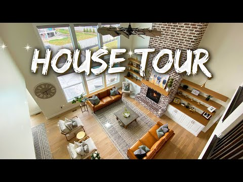 FULL HOME TOUR   *INDOOR BASKETBALL COURT*