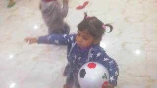 BRO VS TWIN SISTERS *IMPOSSIBLE* Football Challenge  game by Atifa Naira