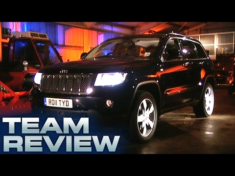 Jeep Cherokee (Team Review) - Fifth Gear