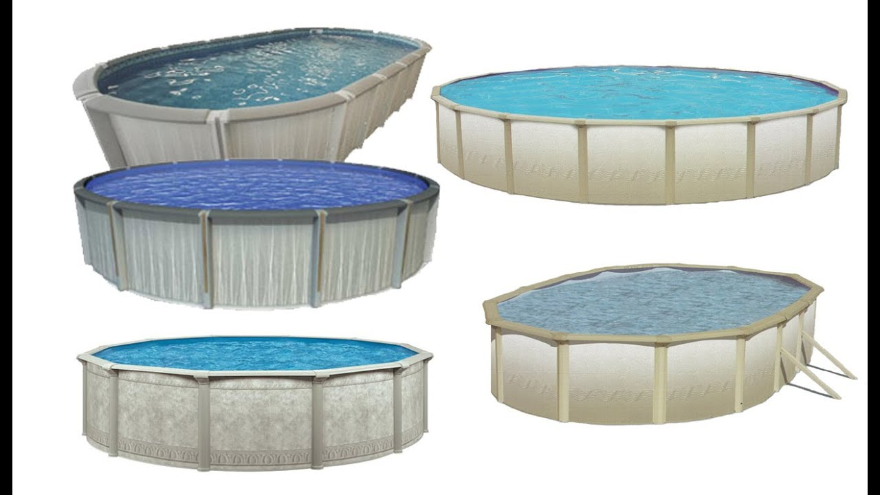 Resin or steel pools essential above ground pool buyers guide youtube for Resin above ground swimming pools
