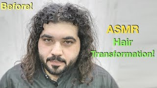 ASMR - Curly Hair Transformation - Fix Damaged Hair ✅