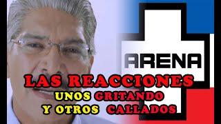 ASI REACCIONA EL PARTIDO ARENA y FMLN sobre el ante juici0