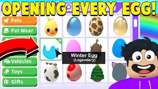 I Opened EVERY EGG Ever in Adopt Me! (GETTING DREAM PET)