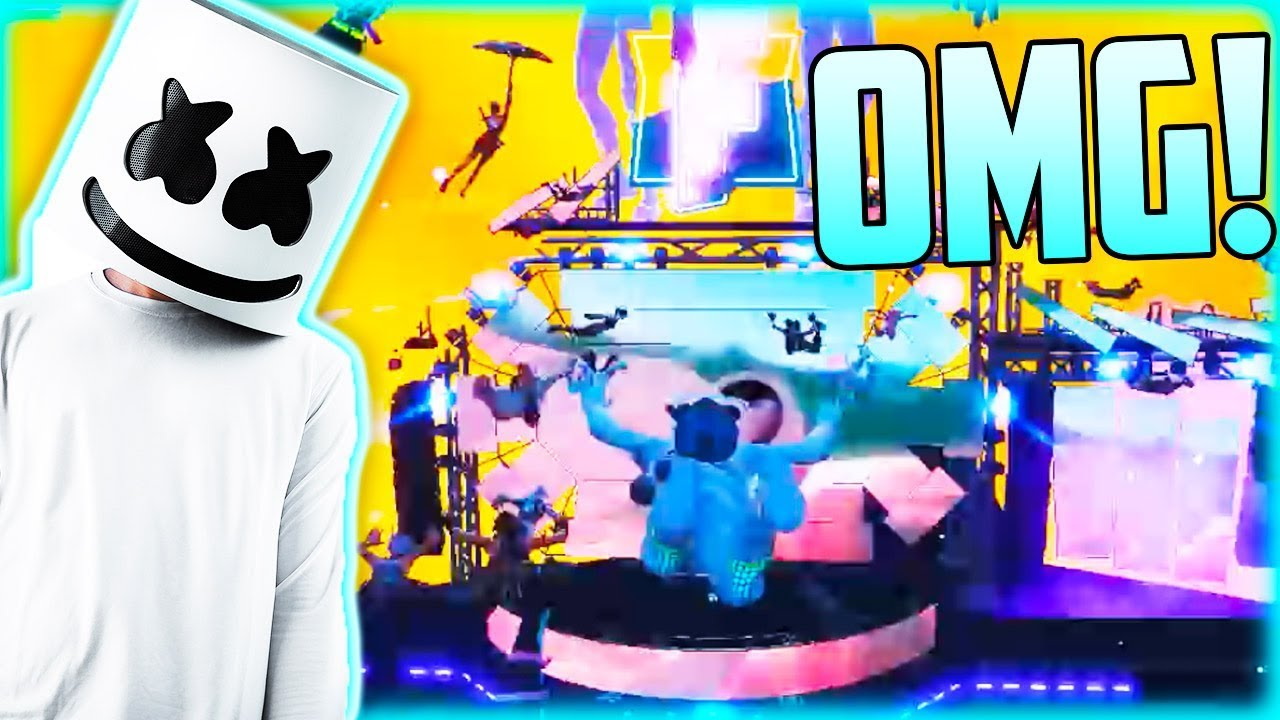 Best Gaming Event In History Marshmello Live Event Gameplay