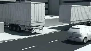 Технологии Volkswagen  Система экстренного торможения