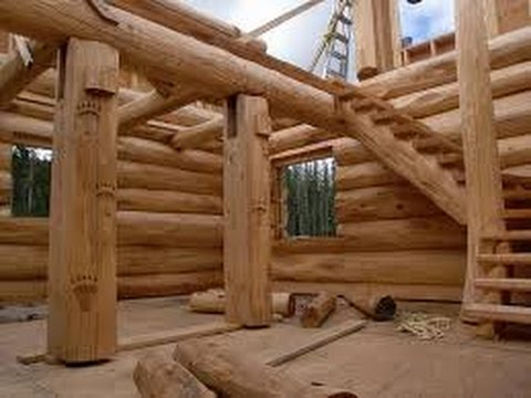 Como construir una caba a de madera youtube for Ideas de casas para construir