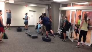 Crash Hamilton Training Bosu Ball