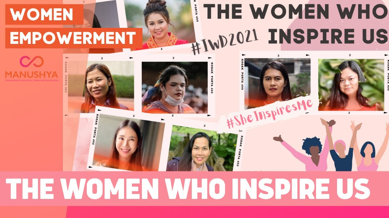 #SheInspiresMe #IWD2021 - Meet the 8 amazing women who inspire us!